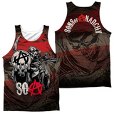 Tank Top: Sons Of Anarchy- Reaper Ball (Front/Back) Tank Top
