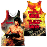 Tank Top: Rambo First Blood Ii- Become War (Front/Back) Tank Top