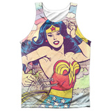 Tank Top: Wonder Woman- Hometown Girl Tank Top