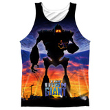 Tank Top: Iron Giant- Giant Poster Black Back Tank Top