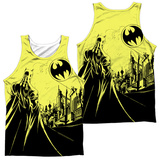 Tank Top: Batman- Bat Signal (Front/Back) Tank Top