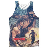 Tank Top: Rambo First Blood Ii- Bow Action Tank Top