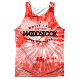 Tank Top: Woodstock- Tie Dye Tank Top