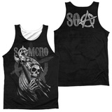 Tank Top: Sons Of Anarchy- Somcro Reaper (Front/Back) Tank Top