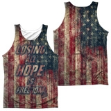 Tank Top: Fight Club- Losing Hope (Front/Back) Tank Top