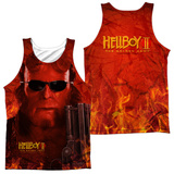 Tank Top: Hellboy II- Big Red (Front/Back) Tank Top