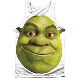 Tank Top: Shrek- Head Tank Top