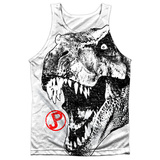 Tank Top: Jurassic Park- T Rex Head Tank Top
