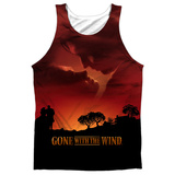 Tank Top: Gone With The Wind- Sunset Tank Top