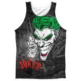 Tank Top: Batman- Joker Sprays The City Tank Top