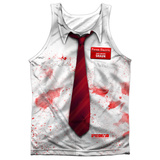Tank Top: Shawn Of The Dead- Bloody Shirt Tank Top