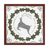 Winter Wonderland Wreath Print by Cindy Shamp