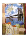 Brooklyn Bridge II Posters by Andrew Sullivan