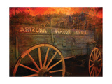 Arizona Wagon Train Prints by Kari Brooks