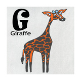 G Giraffe Prints by Shanni Welsh