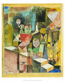 Introducing the Miracle (1916) Print by Paul Klee