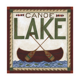 Canoe Lake IH Print by Cindy Shamp