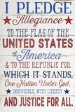 Pledge Allegiance Art by Jennifer Pugh