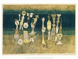 Comedy, 1921 Art by Paul Klee