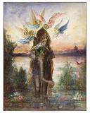 The Sacred Elephant (Péri) (1882) Prints by Gustave Moreau