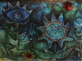 Paul Klee - Flowers in the Night (1930) - Poster