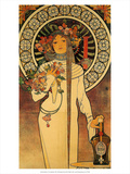 The Trappistine, 1897 Poster by Alphonse Mucha