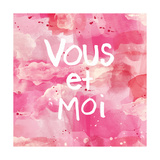 Vous Et Moi Posters by Linda Woods