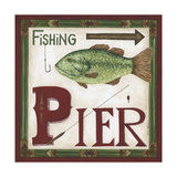 Fishing Pier Prints by Cindy Shamp