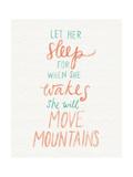 Move Mountains Poster par Katie Doucette