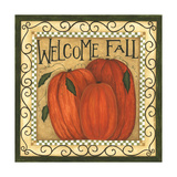 Welcome Fall Prints by Cindy Shamp