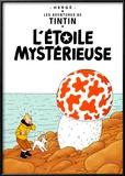 L'Etoile Mystérieuse, c.1942 Prints by  Hergé (Georges Rémi)