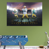 NFL Aaron Rodgers 2015 Montage RealBig Mural Reproduction murale