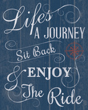 Life's a Journey Giclee Print by Tom Frazier