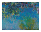 Blue Rain, c.1925 Premium Giclee Print by Claude Monet
