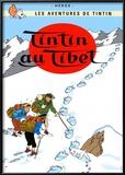Tintín en el Tíbet (1960) Posters por Hergé (Georges Rémi)