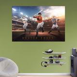 MLB Buster Posey 2016 Montage RealBig Mural Wall Mural