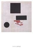 Suprematistische Komposition Plakater af Kazimir Malevich