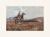 Moorland Gallup Premium Giclee Print by Lionel Edwards