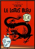 Le Lotus Bleu, c.1936 Prints by  Hergé (Georges Rémi)