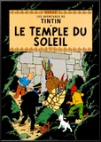 Le Temple du Soleil, c.1949 Art by  Hergé (Georges Rémi)