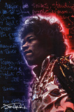 Jimi Hendrix- Electric Halo Posters