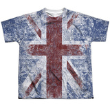 Youth: The Who- Distressed Union Jack T-shirts