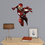Marvel Captain America Civil War Iron Man Fathead Jr. Wall Decal
