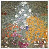 Farm Garden Posters by Gustav Klimt