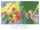 Golf Champions Collectable Print by LeRoy Neiman