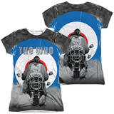 Juniors: The Who- Modrophenia (Front/Back) Womens Sublimated
