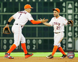 Carlos Correa & Jose Altuve 2016 Action Photo