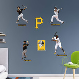 MLB Pittsburgh Pirates 2016 Power Pack RealBig Wall Decal