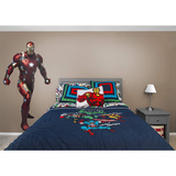 Marvel Captain America Civil War Iron Man RealBig Adhésif mural