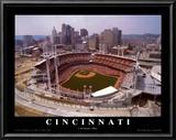 Cincinnati, Ohio - Baseball Prints by Mike Smith